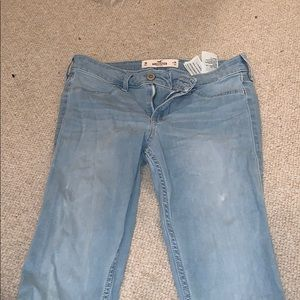 Light Wash Hollister Skinny Jeans